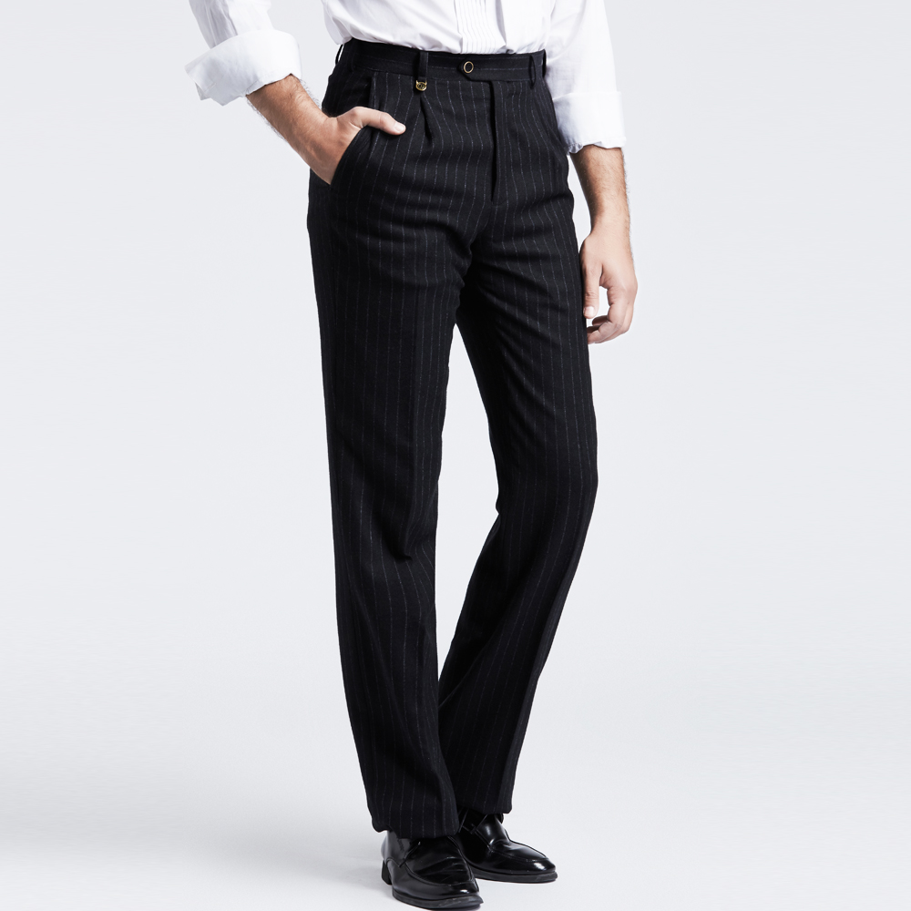 Black Pinstripe Pants Reviews - Online Shopping Black Pinstripe ...