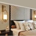 Распродажа новых китайских настенных ламп для ресторана  гостиной  настенный светильник  прикроватная лампа  модная железная настенная лам...