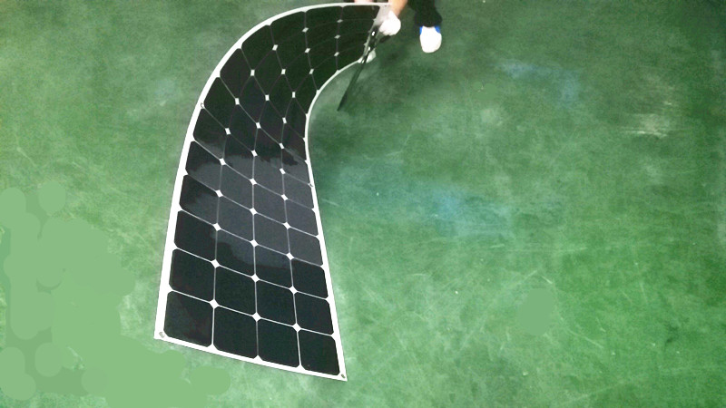 100/200/300/400 Watt 12 Volt SunPower Flexible Solar Panel Monocrystalline Solar Cell Extremely Ultra Lightweight, Ultra Thin, image