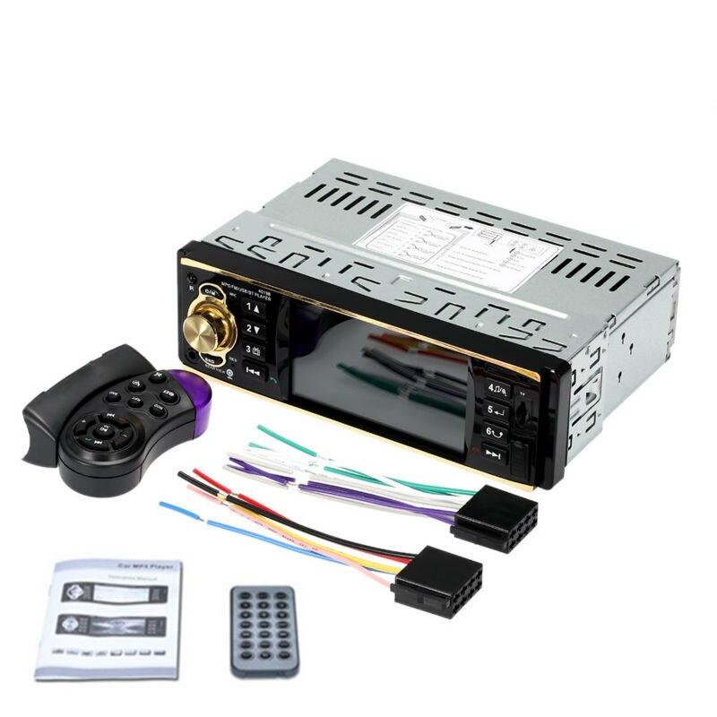 "12V 4.1/"" Car MP5 Player Bluetooth TFT Screen Stereo Radio+Steering Wheel Remote"