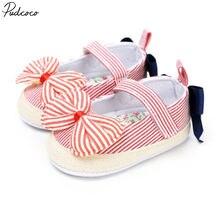 Детская обувь для новорожденных, малышей, девочек, малышей, мягкая подошва, детская обувь для малышей 0-18 м