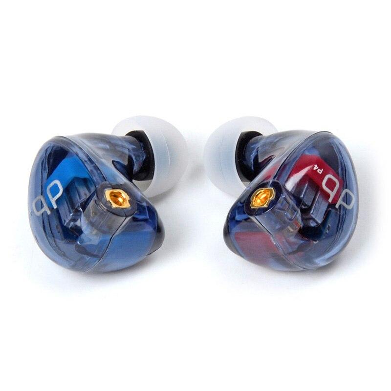 2018 Più Nuovo audbos P4 In Trasduttore Auricolare Dell'orecchio 4BA Unità di Azionamento Ogni Lato China DIY HIFI Auricolare Monitor Con Interfaccia MMCX