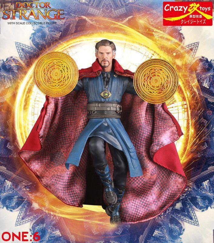 28 cm Verrückte Spielzeug Marvel Avengers Arzt Seltsame Statue PVC Action Figure Sammeln Modell Spielzeug