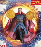 28cm Crazy Toys Marvel Avengers Doctor Strange Statue PVC Action Figure Collectible Model Toy