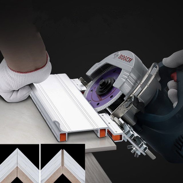 Adjustable masonry 45 Degree Chamfering Cutter Stone Cutting Machine Tile Marble Chamfering Guide Locator Construction tools