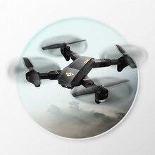 Оригинальный XS809W мини складной Дрон RC селфи Дрон с Wi-Fi Fpv hd Камера высота держатся и Безголовый режим rc горючего Drone