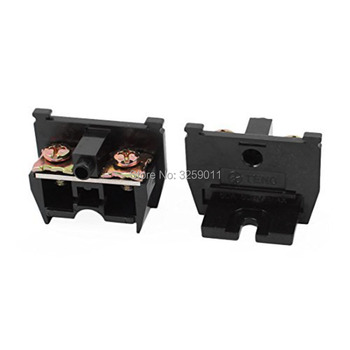1PCS TBC-60A Suyep 60A/600V Rail Mounted Assembled Screw Terminal Block Cable Connector image