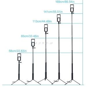 Image 4 - 1.5m/2m extensível selfie vara tripé suporte para iphone ipad dslr android gopro