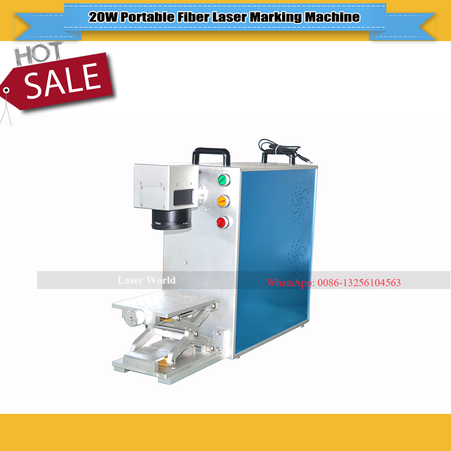 20w Portable Fiber Laser Marking Machine With Maxphotonics