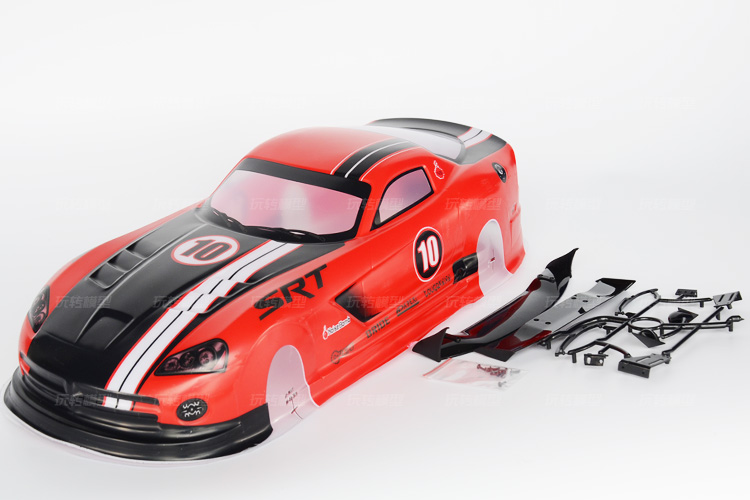 047 red 1/10 rc car parts painted shell body 1/10 car accessories for 1/10 rc car 190mm 2pcs/lot free shipping