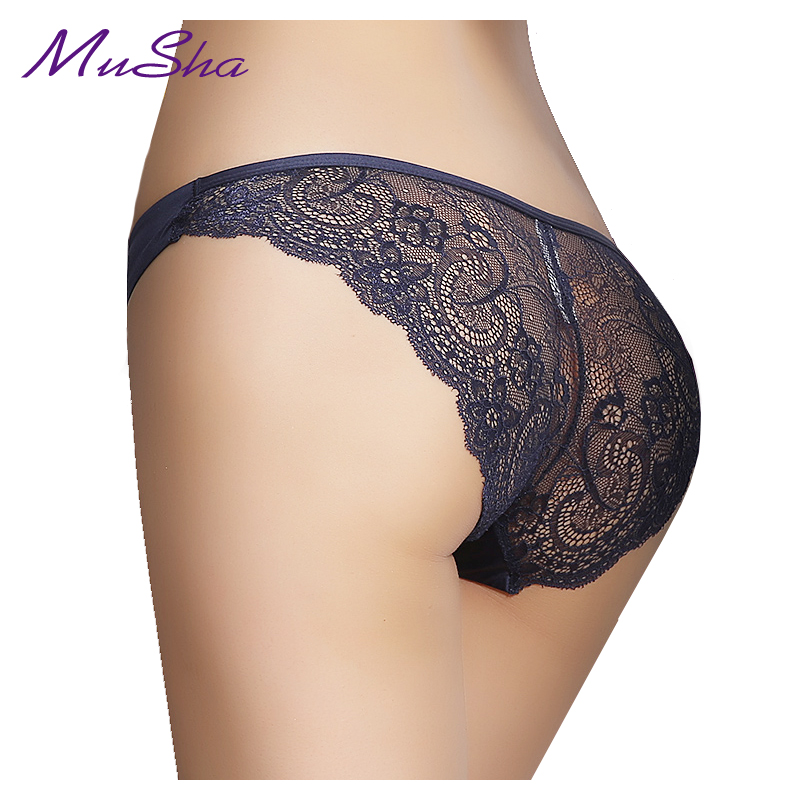 S-3XL!Hot sale! women's sexy lace panties seamless cotton breathable panty Hollow briefs Plus Size girl underwear