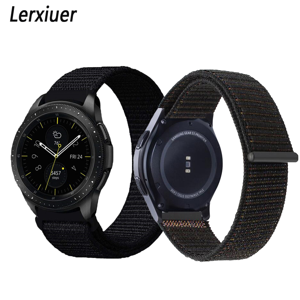 Gear s3 Frontier Strap For Samsung Galaxy watch 46mm 42mm amazfit bip strap 22mm watch band 20mm correa pulseira bracelet huami