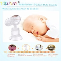 Safety Healthy Baby Care Use Electric Breast Feed Pump