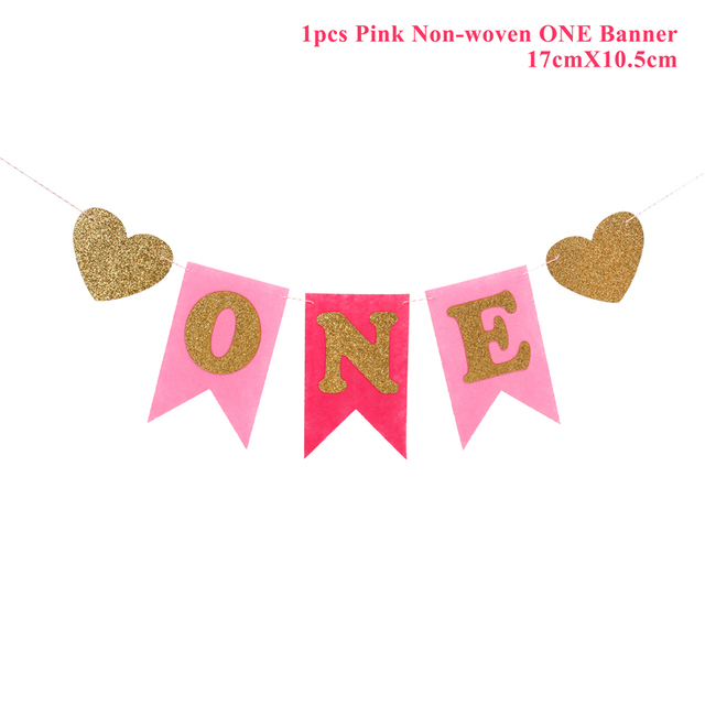 1 pcs one Pink Presents for one year old boy 5c64f7ebefc29