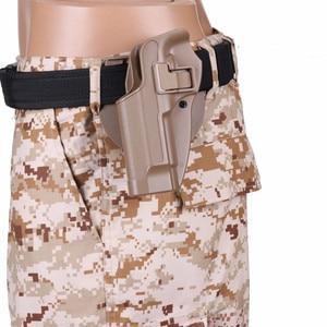 Image 1 - 2017 חדש הגעה CQC M92 1 סט אקדח אקדח נרתיק פולימר ABS פלסטיק מותניים חגורת אקדח נרתיק fit Airsoft ימין יד