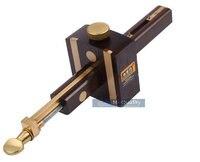 Luxury British Indonesia Ebony Pure Copper Wearproof Carpenter Woodworking Tool 8INCH Screw Cutting Gauge Mark Scraper