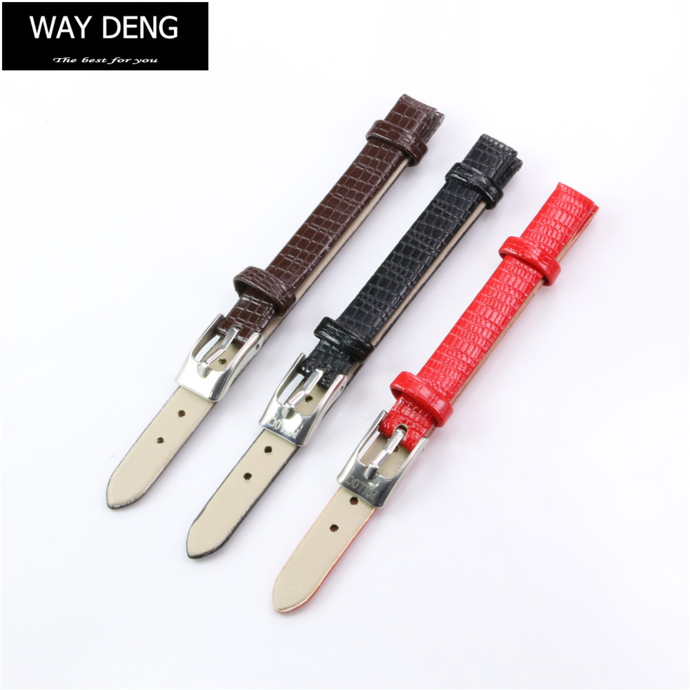 Way Deng - Fashion Women's Multi-colors Faux Leather Wrist Watch Band Strap 8 mm Watchband Bracelet Accessories - Y072 spring children sports suit tracksuit for girls kids clothes sports suit boy children clothing set casual kids tracksuit set 596 page 6