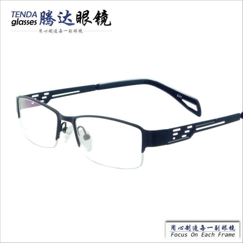 2cc4bd4fb8 new arrival designer half-rim cheap men glasses frames for prescription lens
