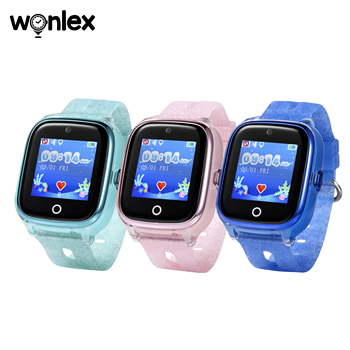 Wonlex Kids Smart Wifi Watch Waterproof IP67 Swimming Sporting Watch SOS Help GPS Positioning Wearable Anti-lost SeTracker KT01 4