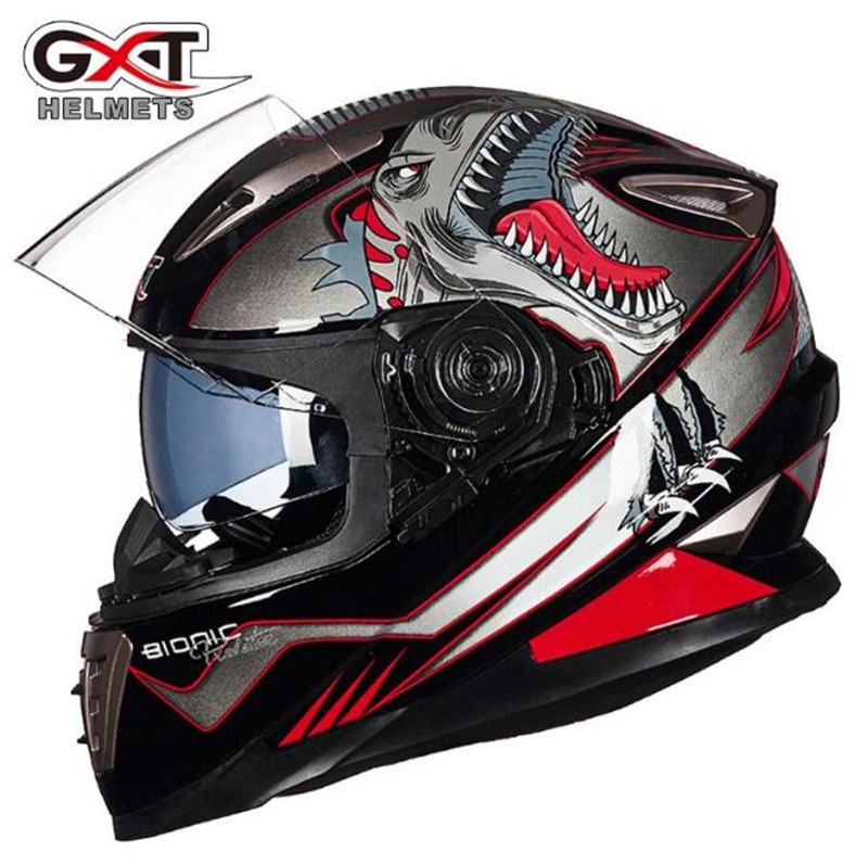 GXT Motorcycle Helmet Motorcycle Cool Full Face Riding Helmet Motorcycle Full Face Riding Helmet For Men And Women equestrian horse riding helmet riding horse helmet for men women child xs xxl