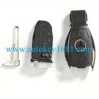 ЗАМЕНА SMART Оболочки + Uncut пустой, пригодный для Mercedes Benz W211 дистанционного Дело брелок 3 кнопки (подходит: mercedes-Benz)