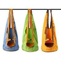 3 Color Outdoor Indoor Children Swing Chair Hanging Seat Yard Hammocks Swing Sleeping Bag Amusement Park Sports Toy Chair Swings
