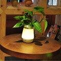 Recarregável Sensor de Toque Criativo LED Night Lâmpada Vaso Pode Ser Escurecido Luz Sono USB LED Night Light Table Lamp Decoração Da Sua Casa
