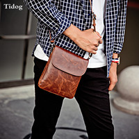 Tidog Retro Gentleman Packet Leisure Personality Fashion Shoulder Bag