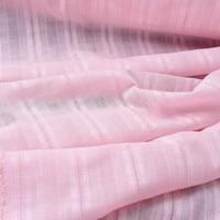 jacquard vertical linen fabric pink 1.5 meters wide