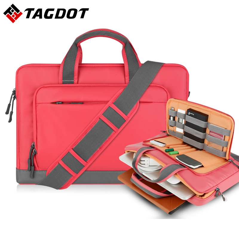 Versatile waterproof Laptop bag For macbook air 13  13.3  14 pro 15 15.4 inch Fashion men and women Notebook Messenger Bags 20