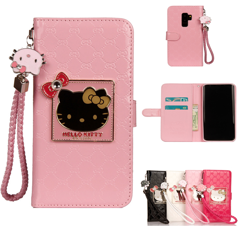 For Samsung Galaxy S9 S8 Plus Note 8 Luxury Wallet Smart