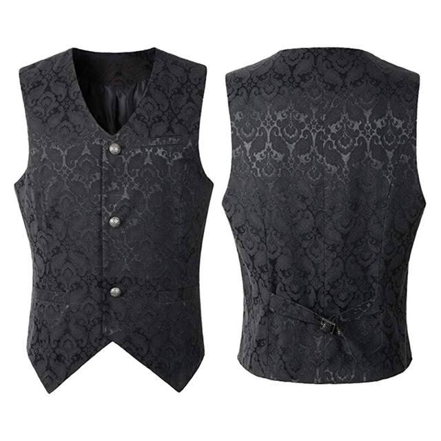 Men's Medieval Solid Vest