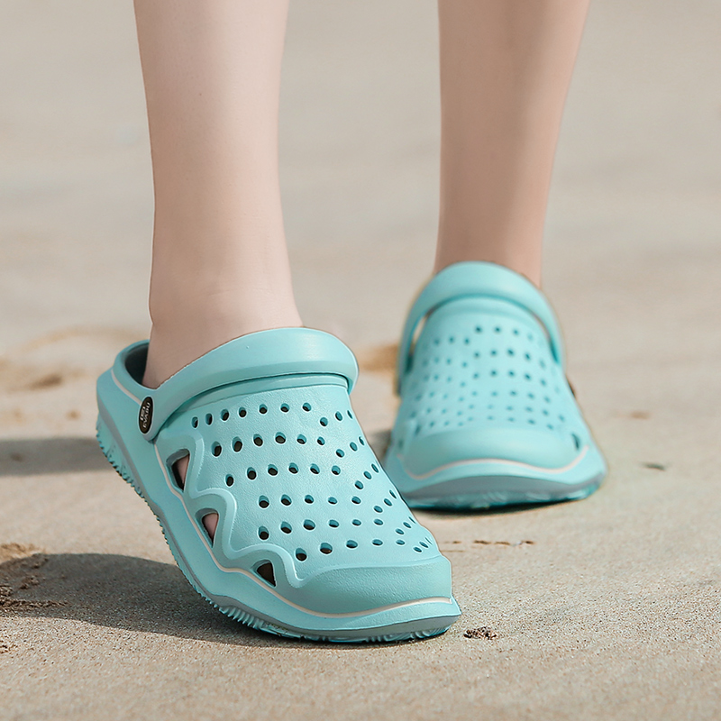 2019 women's casual Clogs Breathable sandals home valentine slippers summer slip on women flip flops shoes Clogs Sandalias Mujer