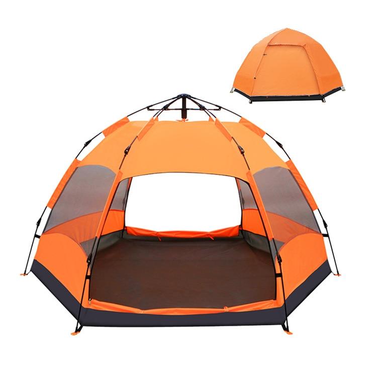 Tente automatique 5-8 personnes tente extérieure de camping imperméable épaisse 270*270*150 cm