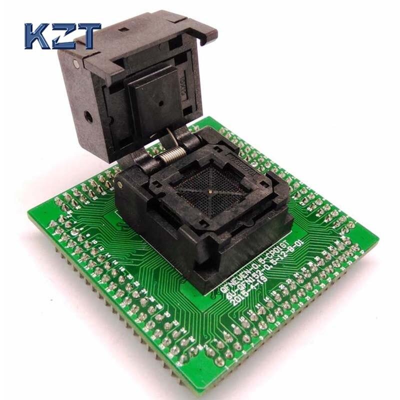 QFN36 MLF36 WLCSP36 Programming Socket Adapter Pin Pitch 0.4mm IC Body Size 5*5mm Test Socket QFN36(5x5)-0.4 programming socket