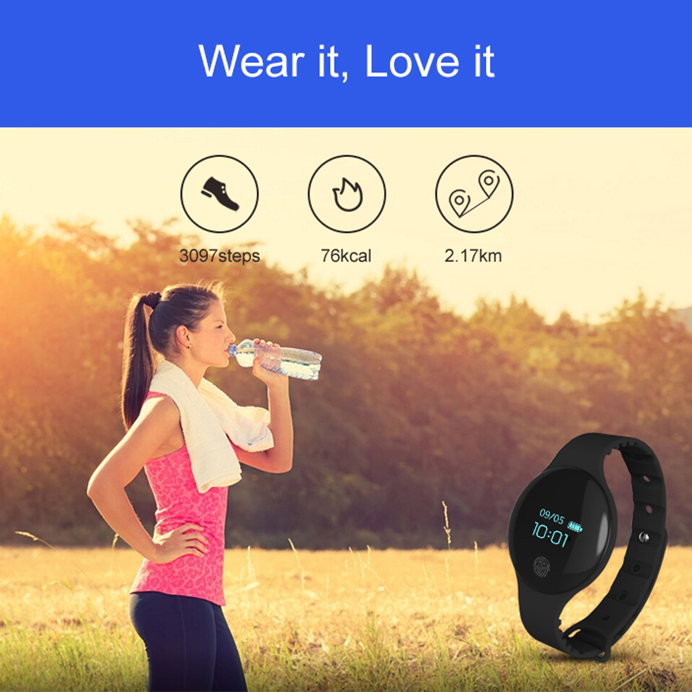 .Women Men Sports Watch Smart Bracelet Heart Rate Monitor Fitness Tracker Touch Screen Wristband Couple Watch For IOS Android id115 smart watch fitness sport wristband watch for ios android iphone heart rate monitor tracker men women watch oled bracelet