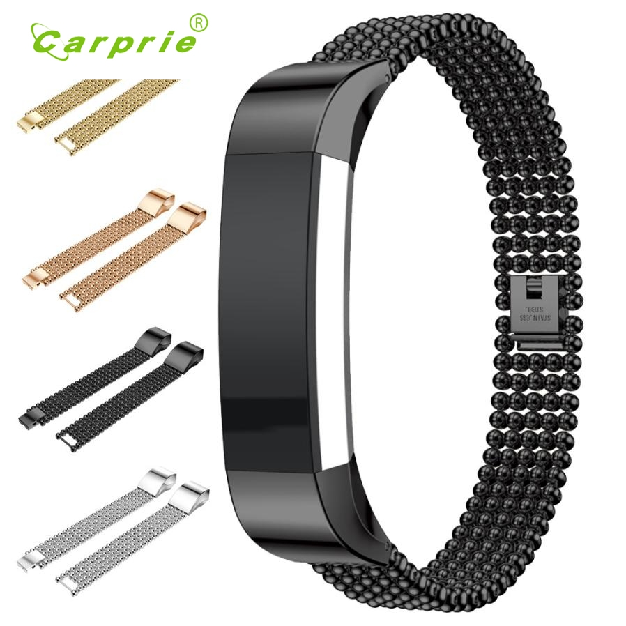 CARPRIE NEW Stainless Steel Watch Bracelet Band Strap For Fitbit Alta HR SL watch strap tool ov29 p30 gift