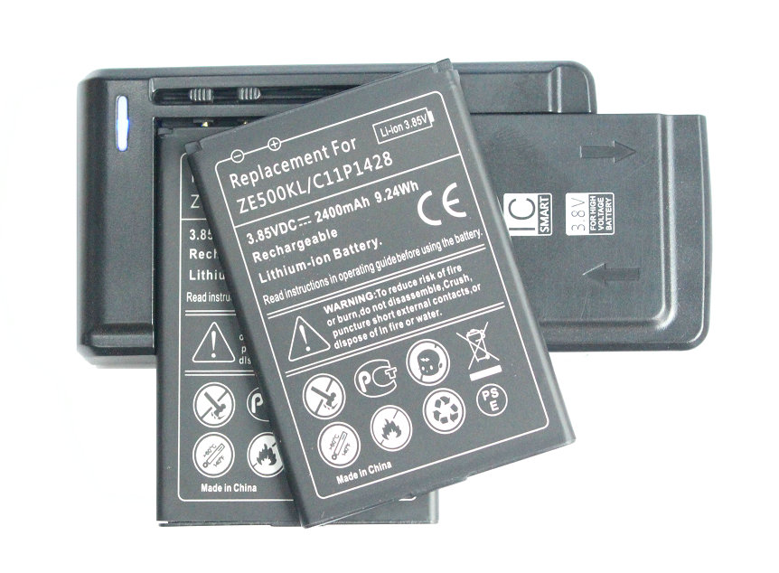iTopZea 2x 2400mAh / 9.24Wh C11P1428 Replacement Battery