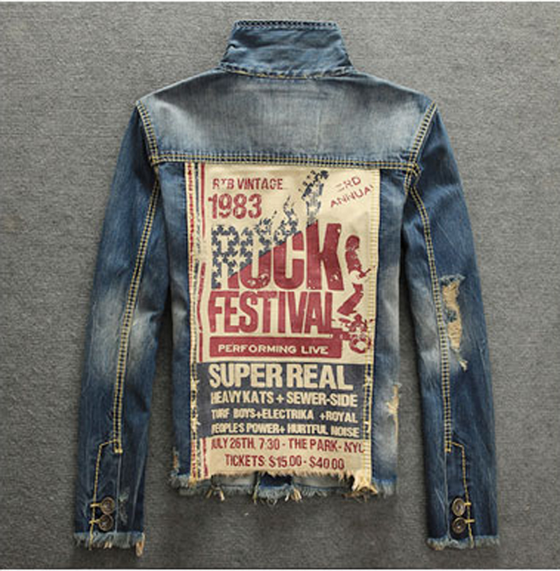 Popular Mens Denim Jacket Xxl-Buy Cheap Mens Denim Jacket Xxl lots ...