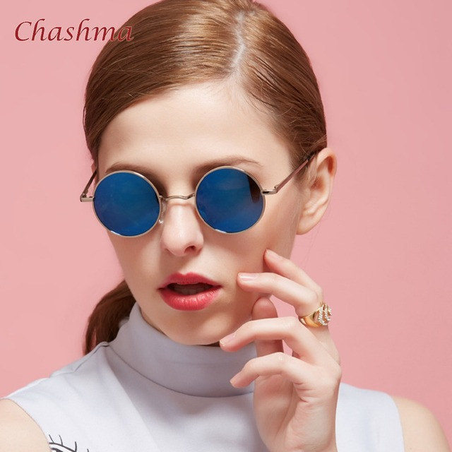 879f3bda21 Chashma Brand Design Classic Polarized Round Sunglasses Men Small Vintage  Retro John Lennon Glasses Women Driving Metal Eyewear