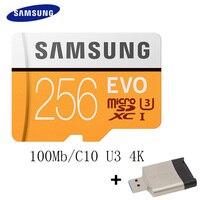 SAMSUNG AC Memory Card 16G 32G 64G 128G 256GB 100Mb S Micro SD Card Class10 U3