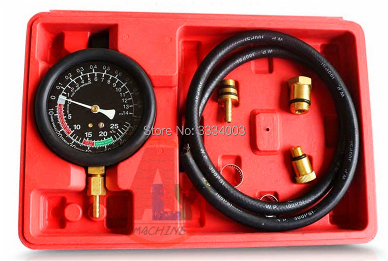 Professional Exhaust System Diagnostic Tool Exhaust Back Pressure Tester, Three - Element Catalytic Blockage Detection Meter
