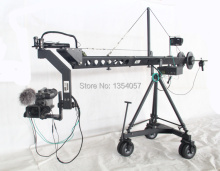 Broadcasting camera dv jimmy jib crane for sale with motorized dutch head loading 25kg Professional Jimmy Crane Jib