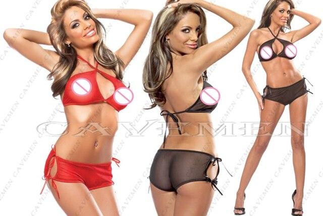Lateral slits Frenum * 2289 * Ladies Thongs G-string Underwear Panties Briefs T-back Swimsuit Bikini Free Shipping