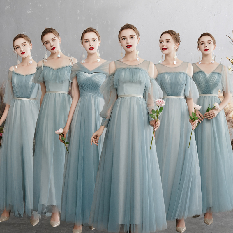 Lace   Bridesmaid     Dresses   2019 Long Plus Size for Girl Weeding Pary Girl Prom   Dresses   A-Line Vestido da dama de honra Homecoming