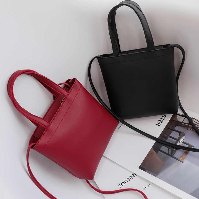 f08e78c089b1 2018 тренд Новые однотонные цвет женский Crossbody молния Женская сумки на  плечо Мобильный телефон сумка красный