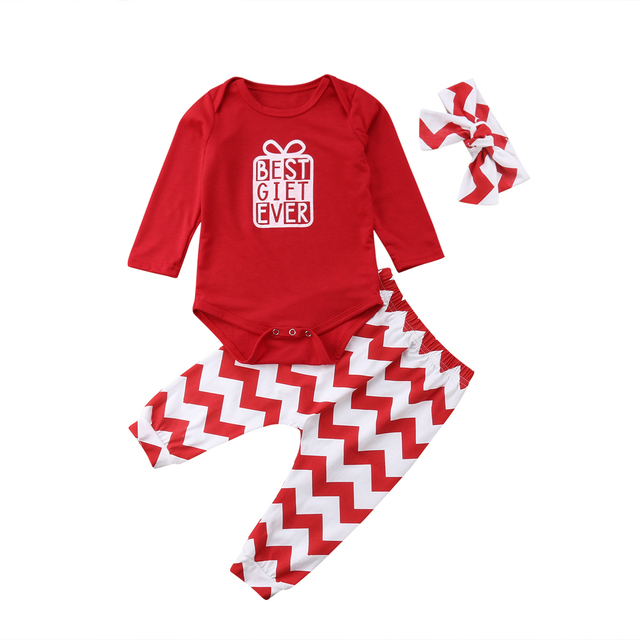 Brand New 2 Pieces Set Infant Newborn Baby Girls Boy Christmas Outfits Long  Sleeves Red Romper - Aliexpress.com : Buy Brand New 2 Pieces Set Infant Newborn Baby