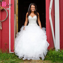 Beautifulinwhite Ball Gown Wedding Dresses Bridal Gowns