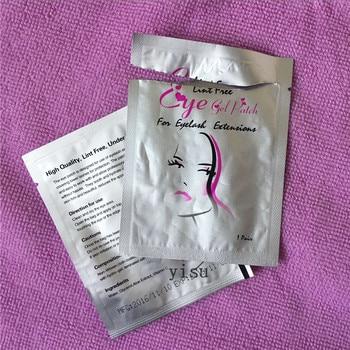 Оптовая продажа 100 пар/лот ресницы Бумага Нашивки подушечки для глаз Для женщин Макияж инструменты наращивания ресниц безворсовой 7*3.3 см 1