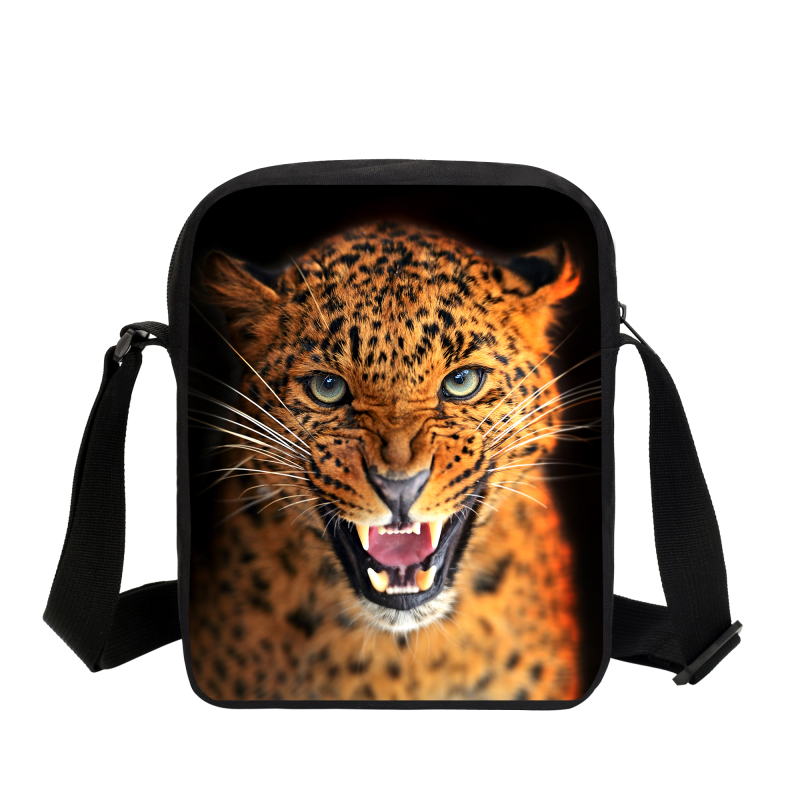 2017 Hot Sale Leopard Mini Messenger Bags For Teenage